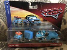 Disney Pixar Cars 3 Diecast Toys DINOCO PITTY AND ROGER WHEELER