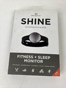 Shine Misfit Shine Fitness Sleep monitor for iOS and Android Black Waterproof