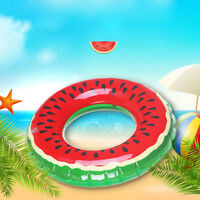 Inflatable Floats Pool Swim Ring Watermelon Swimming Float Swimming Ring