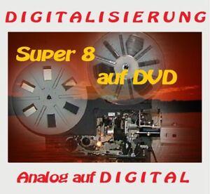 Digitalisierung von alten Filmen Super 8 auf DVD digitalisieren,kein Filmscanner