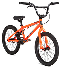 "Mongoose Legion L18 18"" Boy's Orange BMX Frame Young Rider Junior Freestyle Bike"