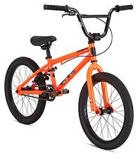 "Mongoose Legion L18 18"" Boy's Orange BMX Frame Young Rider Junior Freestyle Bike"