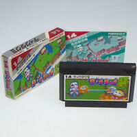 DIG DUG II 2 Famicom Nintendo FC Japan Import NES namcot Boxed Complete NTSC-J