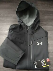 UNDER ARMOUR : CGI Shield Hooded FZ Jacket  (Mens / Size Medium)  *New & Tagged*