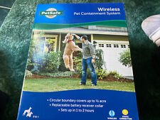 New listing PetSafe Official Pif-300 Dog Fence Wireless Outdoor Containment System