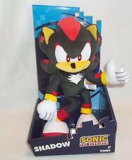 "Tomy Sonic The Hedgehog Shadow Plush 11"" High Quality Super Soft NEW"