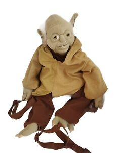 "Star Wars Yoda Backpack Plush 24"" Bag Lucasfilm 2007"