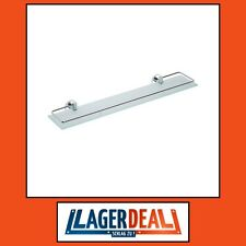 Glasablage 600x55x130mm Messing / Milchglas Chrom Badartikel Zubehör Lagerdeal