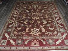 8x10ft. Handmade Vintage Afghan Chobi Room Size Wool Rug