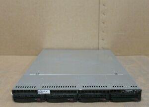 Supermicro 1U CSE-815 H8DGU-F 2x 16 Core AMD 6272 2.10Ghz 128GB RAM 4Bay Server