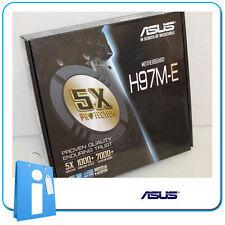 Placa base mATX ASUS H97 H97M-E Socket 1150 con Defecto en LAN