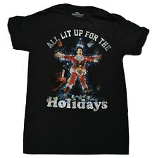 Christmas Vacation Mens All Lit Up For The Holidays Shirt New S, M, L, XL, 2XL