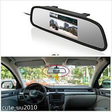 "Auto Car Rear View Parking 4.3"" TFT HD LCD Digital Color Mirror Display Monitor"