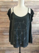 Truly Madly Deeply Women's Shirt Top Size Large