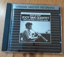 Audiophile MFSL Mobile Fidelity 842 CD ZOOT SIMS 4tet At Ease Bellson Hank Jones