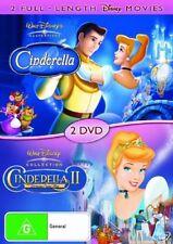CINDERELLA 1 & CINDERELLA:DREAMS COME TRUE 2~DVD ~Disney~NEW & SEALED DVD R4