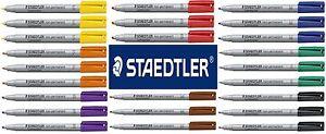 Staedtler Lumocolor Non-Permanent Marker 315 Bullet Tip