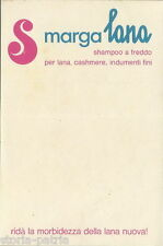 TESSUTI_LAVAGGIO_LANA_CASHMERE_SHAMPO A FREDDO_MARGA LANA_PUBBLICITARIA D'EPOCA