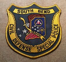 IN South Bend Indiana Civil Defense Special Police Patch
