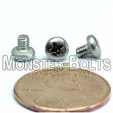 M2.5 x 3mm - Qty 10 - Stainless Steel Phillips Pan Head Machine Screws DIN 7985