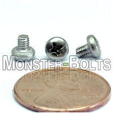 M2.5 x 3mm - Qty 10 - Stainless Steel Phillips Pan Head Machine Screws DIN 7985