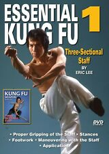 Essential Shaolin Kung Fu #1 3 Sectional Staff applications Dvd Gm Eric Lee