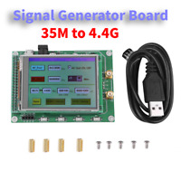 ADF4351 RF Sweep Signal Source Generator Board 35M - 4.4G w/ STM32 TFT Touch LCD