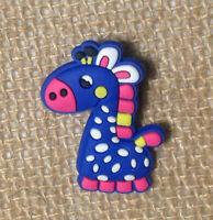 Giraffe Shoe Bracelet Wristband Charm Blue