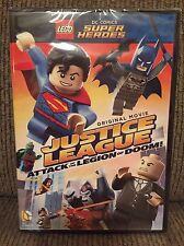 LEGO Justice League Attack of the Legion of Doom DC Super Heroes DVD **NEW**