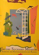 Original Plakat - Jacobs Suchard Museum - Kaffees