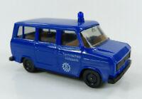 Ford Transit THW Technisches Hilfswerk blau Herpa 1:87 H0 ohne OVP [TG2-C0]