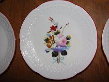 6 Philippe Deshoulieres Winterthur Interpretation Bread Plates France Porcelaine
