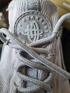 Men's Nike Huarache White Trainers Size Uk 10 Vgc
