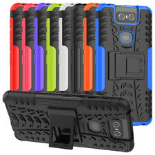 For Asus Zenfone 6 ZS630KL Case Dual Layer ShockProof Hybrid Armor Stand Cover