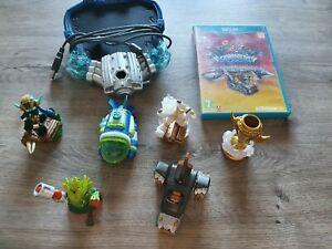 Jeu Skylanders  superchargers sur Wii U avec 6 figurines