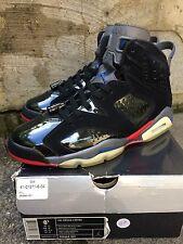 "Nike Air Jordan 6 VI Retro ""Pistons"" Black Varsity Red Blue Grey size 8.5"