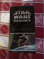 Star Wars Trilogy THX Digitally Mastered VHS Box 3-Tape Set