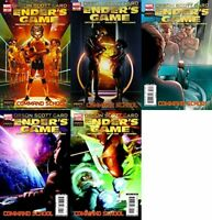 Enders Game Command School #1-5 (2009-2010) Marvel Comics - 5 Comics