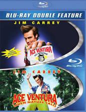 Ace Ventura Pet Detective & Nature Calls 2-Pack Blu-ray Disc Rare OOP jim carrey