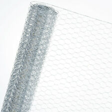 Chicken Fence Wire Mesh Fence Galvanised Poultry Fence HaGa 1m X 10m 30mmx30mm