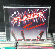 "THE FLAMES  ""Highly Flammable""  -  CD"