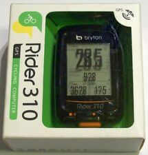 Bryton Rider 310 GPS Bicycle/Cycle Computer 310E w/Mount Cycling Speedometer New
