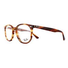 Ray-Ban Glasses Frames 7151 Hexagonal 5797 Havana Red Brown 50mm