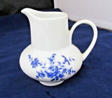 "EDE43 by Edelstein Germany Blue Rose Creamer 3 1/2"" SMALL"
