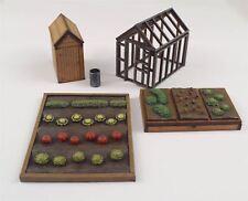 Zuteilung Garten Set OO / HO Gauge von WWS - Eisenbahn Modell Modellierung