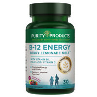 B-12 Energy BerryMelt with Super Fruits - 30 B12 Tablets from Purity Products