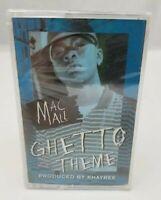 Mac Mall Cassette Tape Maxi Single Ghetto Theme Hip Hop NEW Sealed FREE SHIPPING