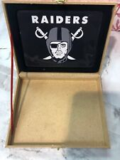 oakland raiders and other team logo gifts box pick your team !let me know !!!