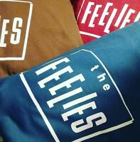 The Feelies official t shirt classic nj legend rock band logo sm-5xlg stone blue