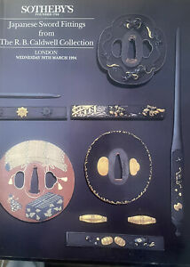 Sothebys Japanese Sword Fittings From The R.B. Caldwell Collection LN. 3/30/94